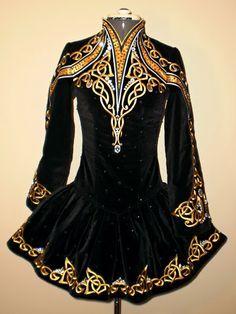 Irish dance solo dress
