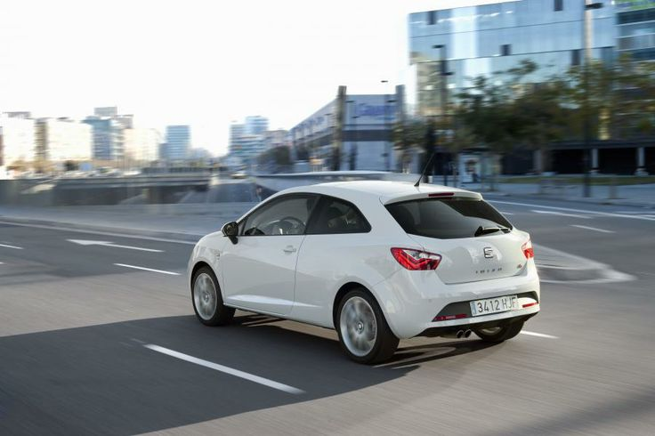 SEAT Ibiza Reference couleur blanche
