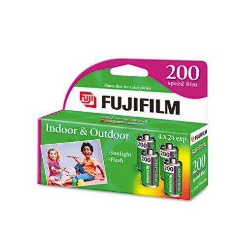 Superia 35mm Color Print Film - 200 ASA, 4 24-Exposure Rolls/Pack(sold in packs of 3)