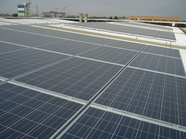 20 kW commercial solar. Italy 2012
