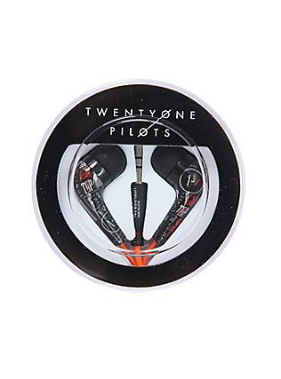 twenty one pilots ear buds from hot topic |-/ twenty one pilots merchandise