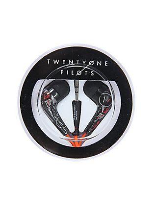 twenty one pilots ear buds from hot topic |-/ twenty one pilots merchandise