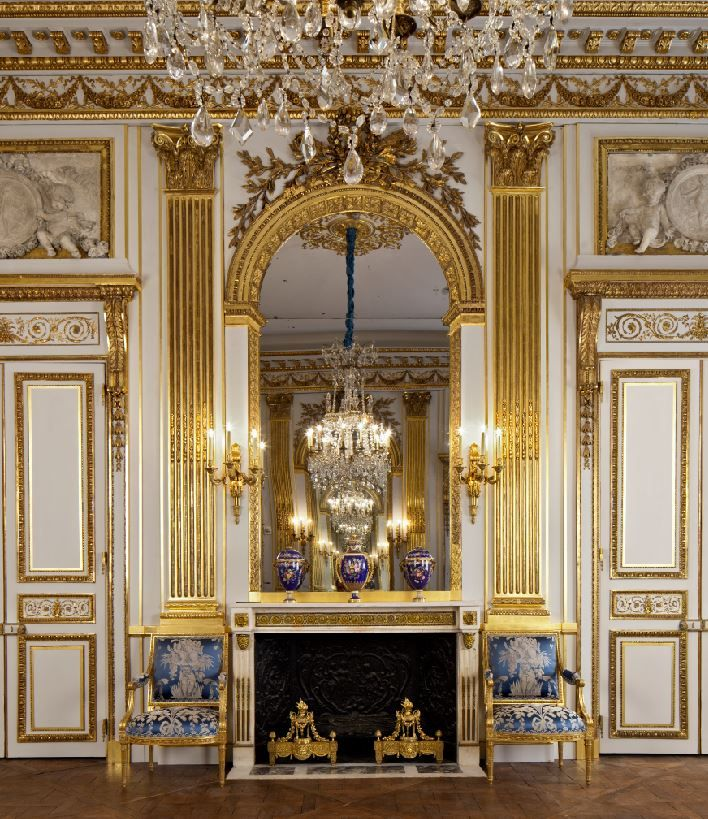 The Salon Doré from the Hôtel de La Trémoille at the Legion of Honor in Lincoln Park, San Francisco. Photograph by Henrik Kam, © Fine Arts Museums of San Francisco