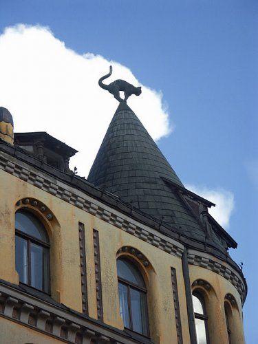 Art Nouveau House | The Cat House - Art Nouveau in Riga images