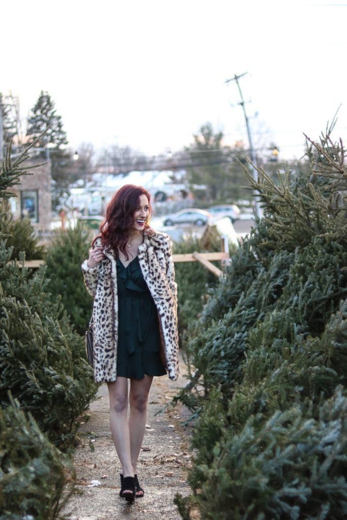 leopard coat, christmas outfit, express // 2 Christmas Outfit Ideas you'll Lovelovelove, featuring Express, LAGOS
