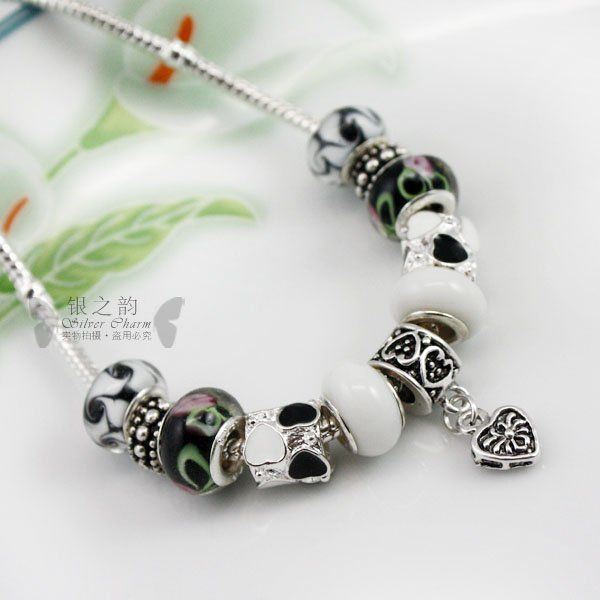 European Style 925 Silver pendant necklace With Murano Glass Beads Handmade Silver jewelry wedding PA2014 $7.79   => Save up to 60% and Free Shipping => Order Now! #fashion #woman #shop #diy  http://www.rodjewelry.com/product/european-style-925-silver-pendant-necklace-with-murano-glass-beads-handmade-silver-jewelry-wedding-pa2014/