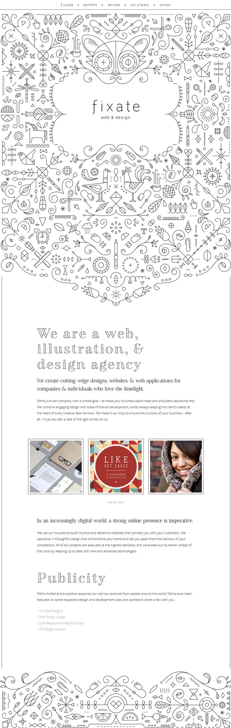 ~ fixate x web & design ~