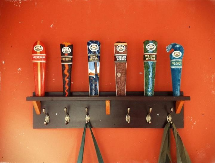 Beer Tap Shelf