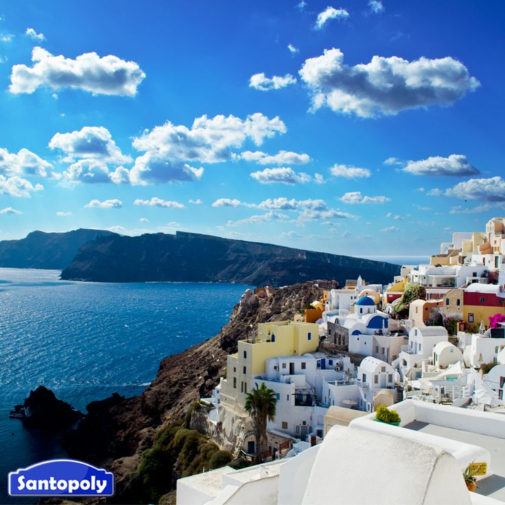 "Wander around Santorini's villages, play and ""travel"" to the most picturesque island of Aegean."