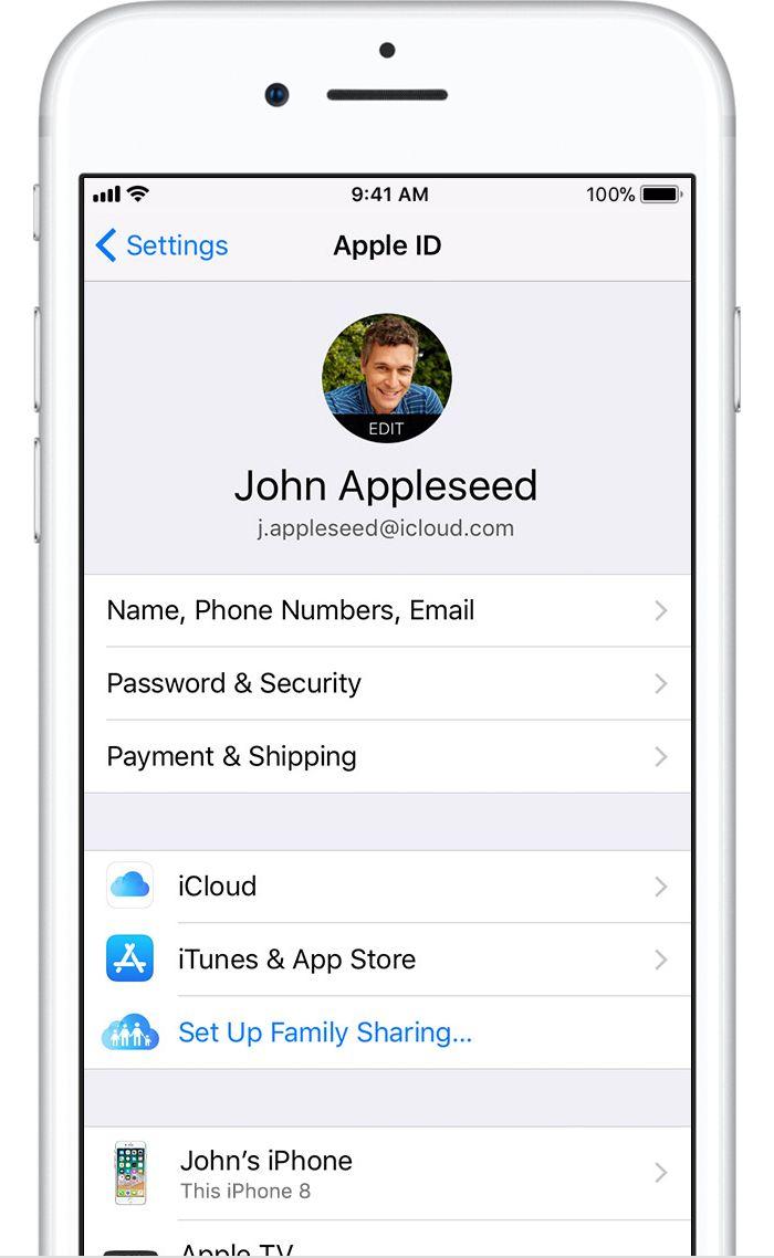 Create Apple Id Apple Tech Inspiration Icloud