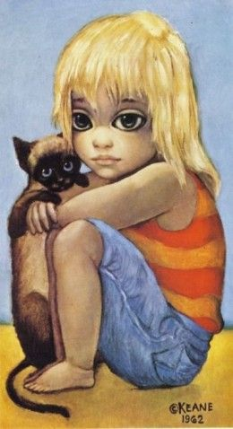 Big Eye Paintings by Keane | Do You Like Big Eyes Art?