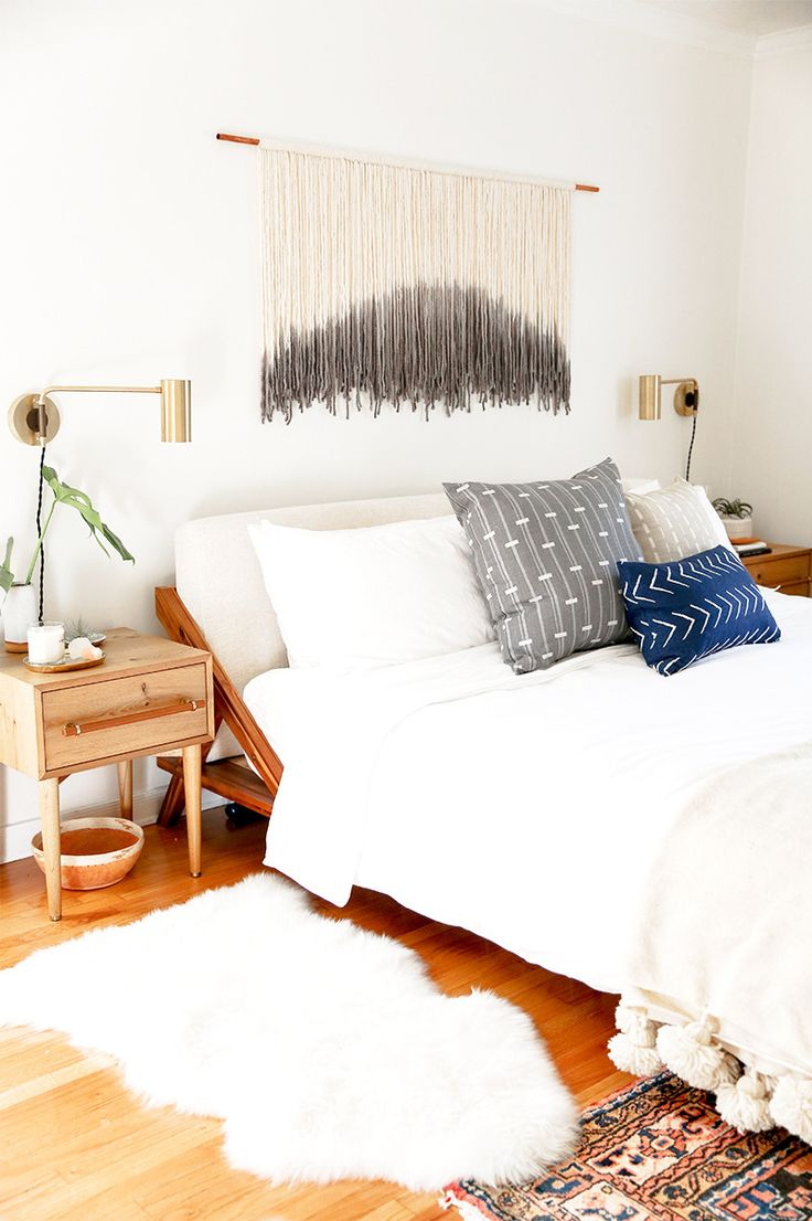 Designer Sarah Sherman Samuel made over photographers' Max and Margaux Wanger's master bedroom to accommodate the newest little addition to their family.