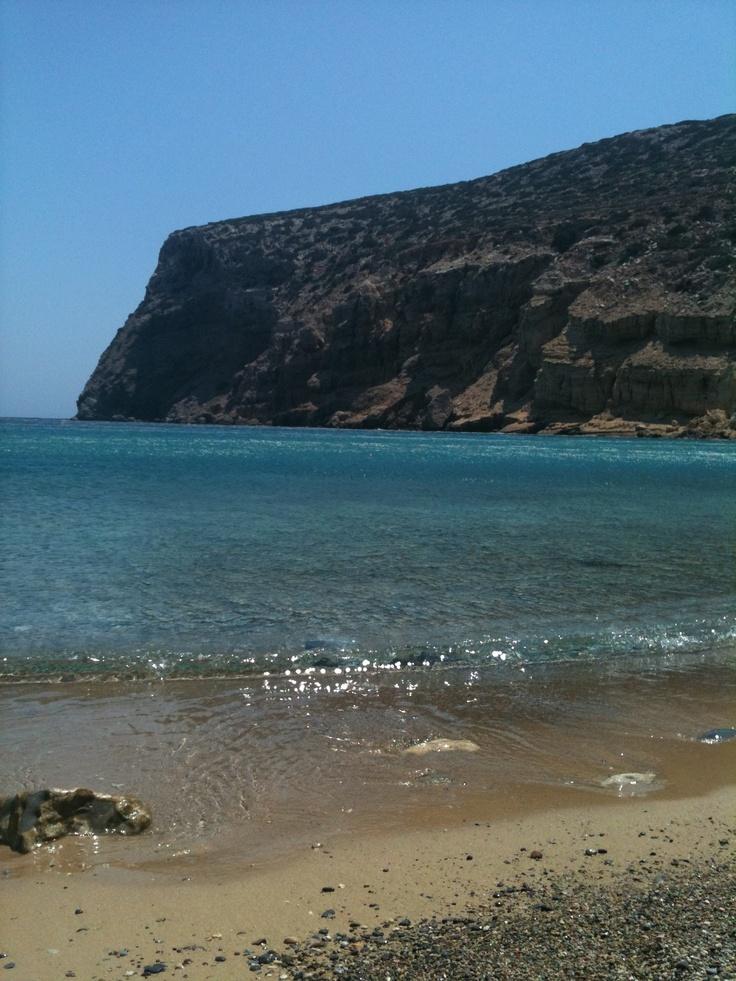 Helatros beach, Kasos