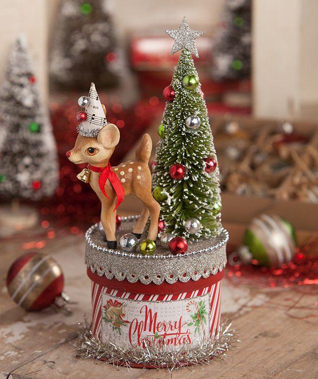 BETHANY LOWE CHRISTMAS RETRO REINDEER ON BOX NEW 2018 #BethanyLowe - BETHANY LOWE CHRISTMAS RETRO REINDEER ON BOX NEW 2018 #BethanyLowe