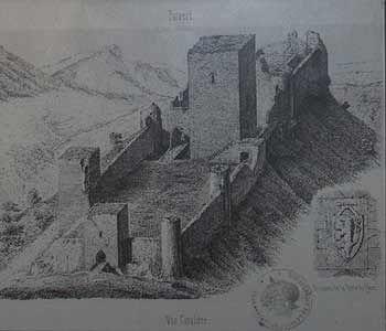 Reportage sur le château de Puivert