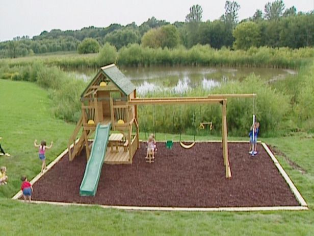 Back Yard Playsets Idea | Building a Backyard Playground : Projects : DIY Network