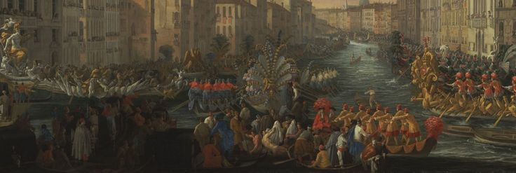 Regatta on the Grand Canal in Honor of Frederick IV, King of Denmark by Luca Carlevarijs.
