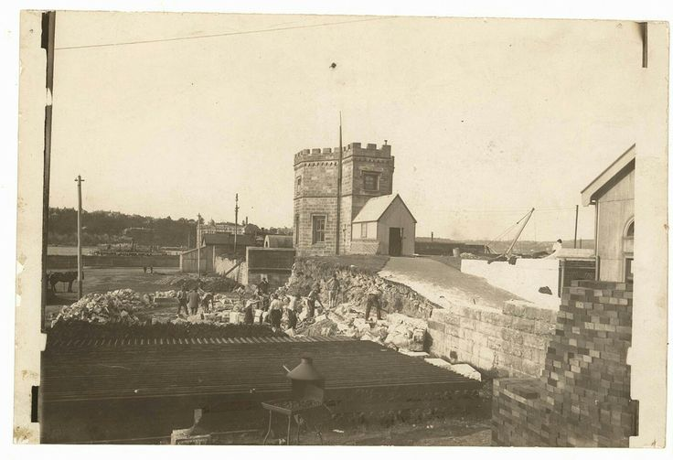 Fort Macquarie on Bennelong Point,Sydney in 1870 (year unknown).