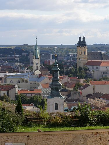 Nitra, Slovakia...view from the Castle