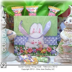 117 best easter diy crafts printables images on pinterest cute easter gift bags you print with matching tags and easter printable candy bar wrappers for negle