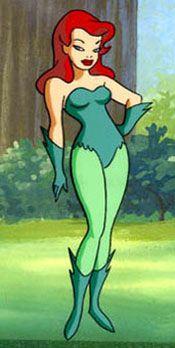Cartoon poison ivy
