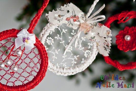Addobbi di Natale: decorazioni eco-chic fai da te   Un'Idea Nelle Mani ... ricicla, riusa, riadatta, ricrea, inventa