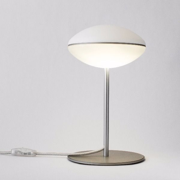 HULA Floor lamp Dimensions mm 178 x 140 h Polished / opaque polycarbonate modules, full transparent polymethylmethacrylate diffuser Reflective LED lighting system, monochrome Led 6 × 1.2W natural white light (NW) 4000K, powered in mains voltage 230V 50 / 60Hz ~ 750 lumens