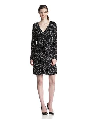 61% OFF Karen Kane Women's Elizabeth Circle Print Dress (Print)