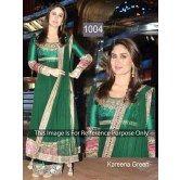 Indian Designer Kareena Green Anarkali Suit