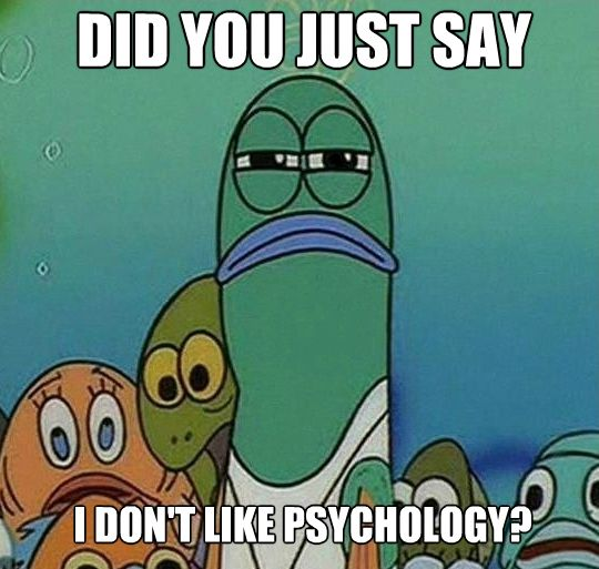 For more psychology humor visit http://all-about-psychology.tumblr.com/ #psychology