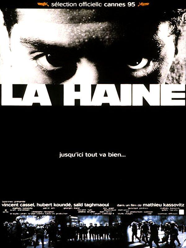 La Haine de Mathieu Kassovitz, 1995