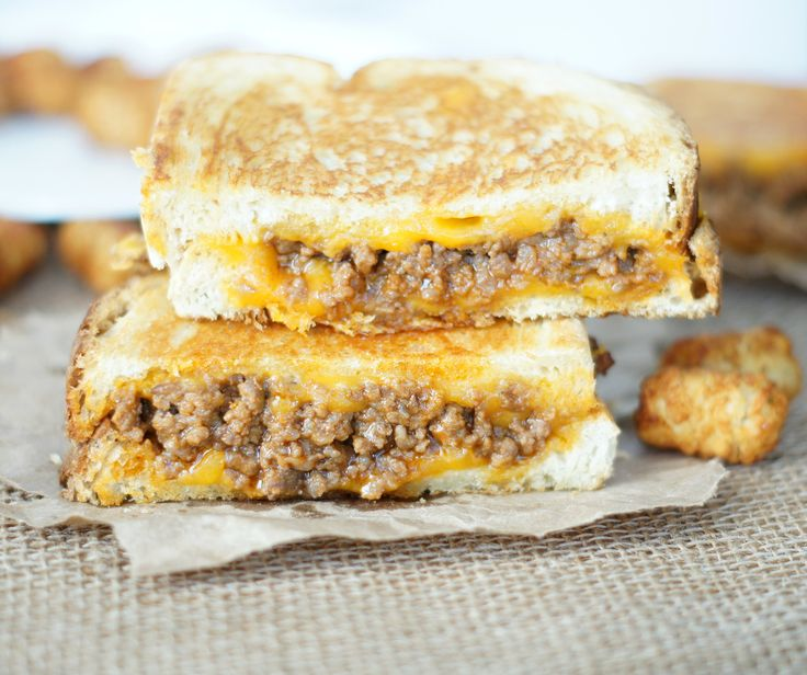 sloppy joe grilled cheese-husband and kids liked this one