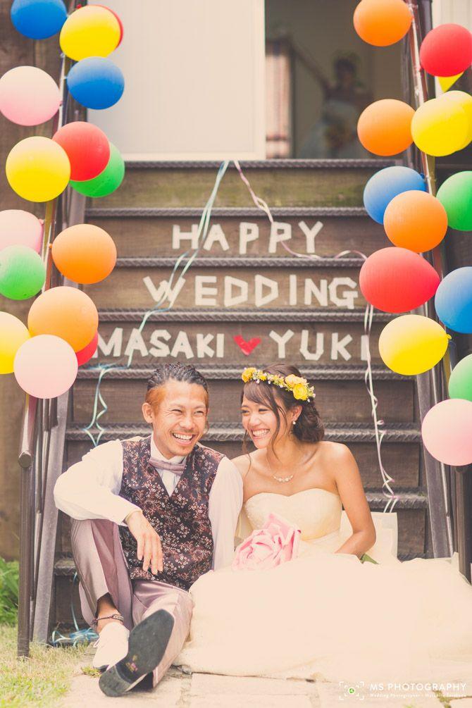 【野外ウェディング 大阪】バックパックウェディングの結婚式   結婚式の写真撮影 ウェディングカメラマン寺川昌宏(ブライダルフォト)