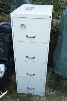 Turn that old filing cabinet into a smoker! | The Owner-Builder Network