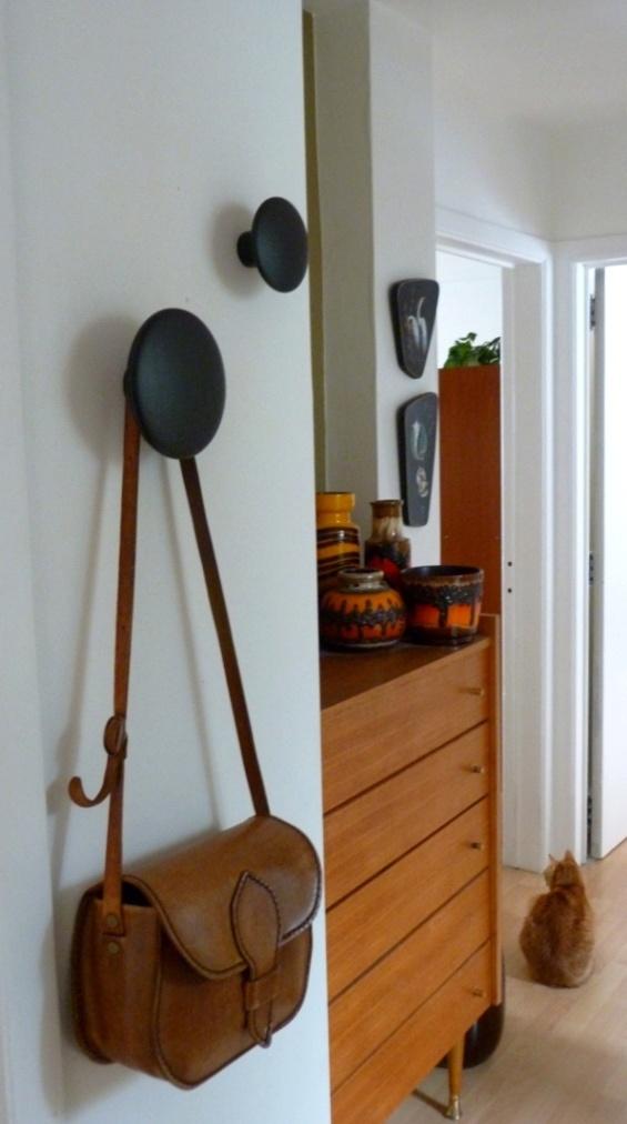 Via Fat Cat Brussels | Midcentury Hallway | Muuto the Dots