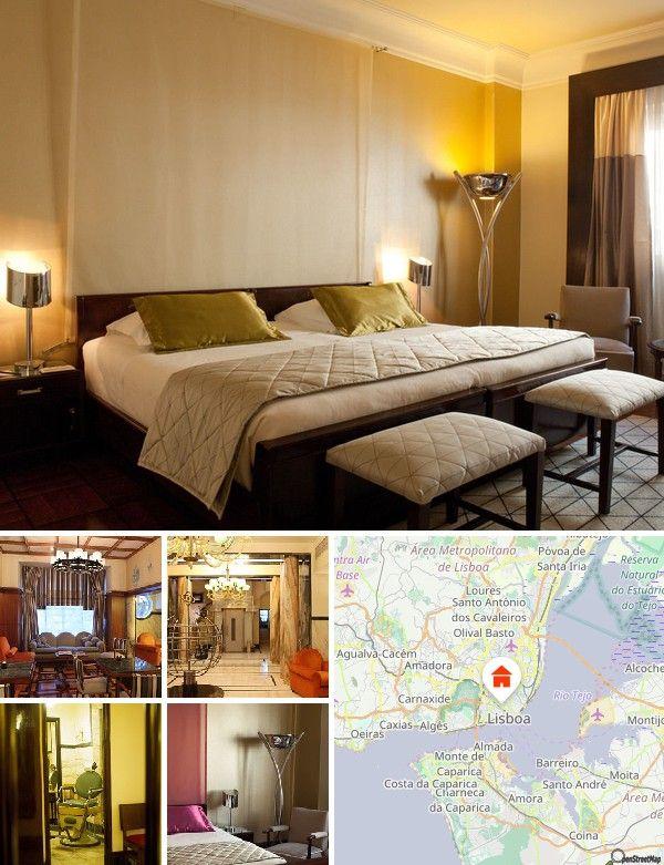 L'hôtel élégant est situé à environ 1 km de Rossio (une des plus belles places de Lisbonne). Les transports en commun sont facilement accessibles à pied. Vous trouverez des commerces variés à environ 200 m et des bars/pubs à environ 500 m. Une discothèque est à environ 2,5 km et la plage est à 25 km. L'aéroport de Lisbonne est à 7 km.
