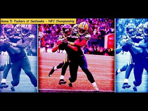 nice Packers vs. Seahawks NFC Championship Game highlights (#5 game in 2014)