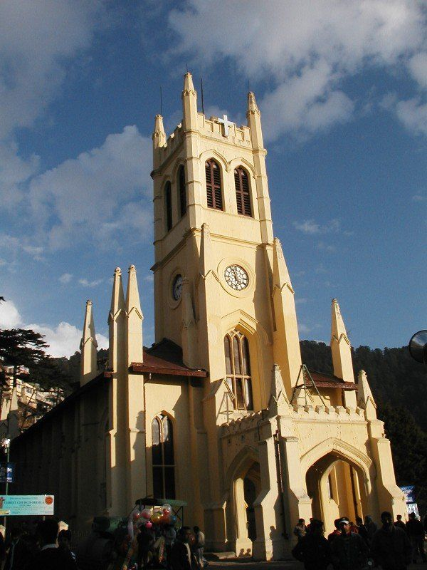 Amazing Christ Church,Shimla India | Read More Info