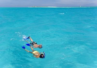 Snorkelling. Visit our website at www.raniresorts.com