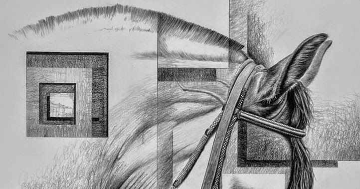 Cuadros De Caballos Hechos A Lapiz Sobre Papel Pinturas Decorativas De Caballos Imagenes Dibujos A Lapiz Cuadro Cuadros De Caballos Cabeza De Caballo Abstracto