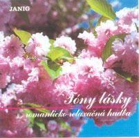 CD Tóny lásky - JANIG - romanticko - relaxačná hudba