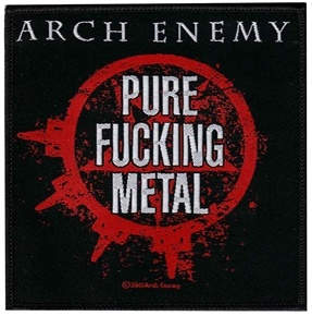 Official Arch Enemy pure metal patch
