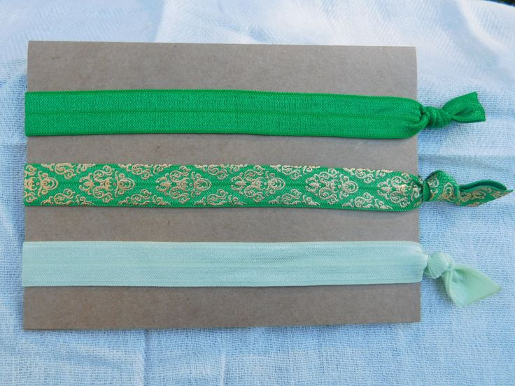 A personal favorite from my Etsy shop https://www.etsy.com/listing/254040478/set-of-3-elastic-headbands-yoga-headband