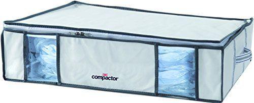 Compactor Housse Compactino plus Aspilito: Price:12.99Dimensions: 65 x 15,5 x 50 cm Contenu du packaging: 1 Housse de Rangement sous vide…
