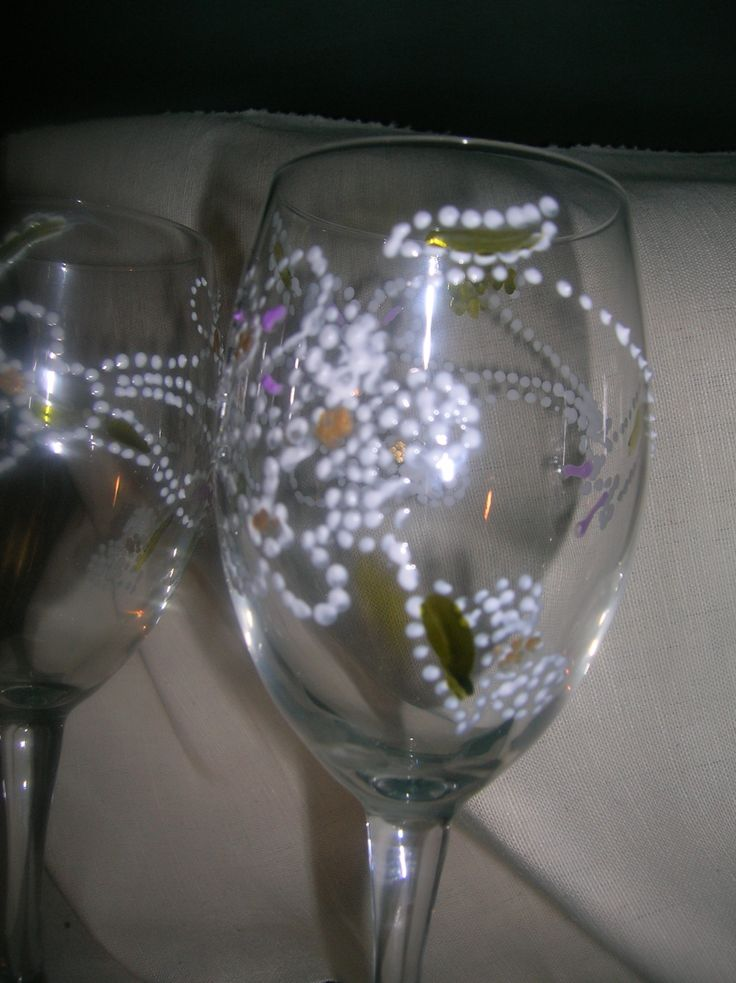 i bicchieri decorati
