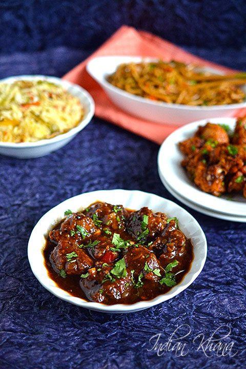 Vegetable-Manchurian-Gravy