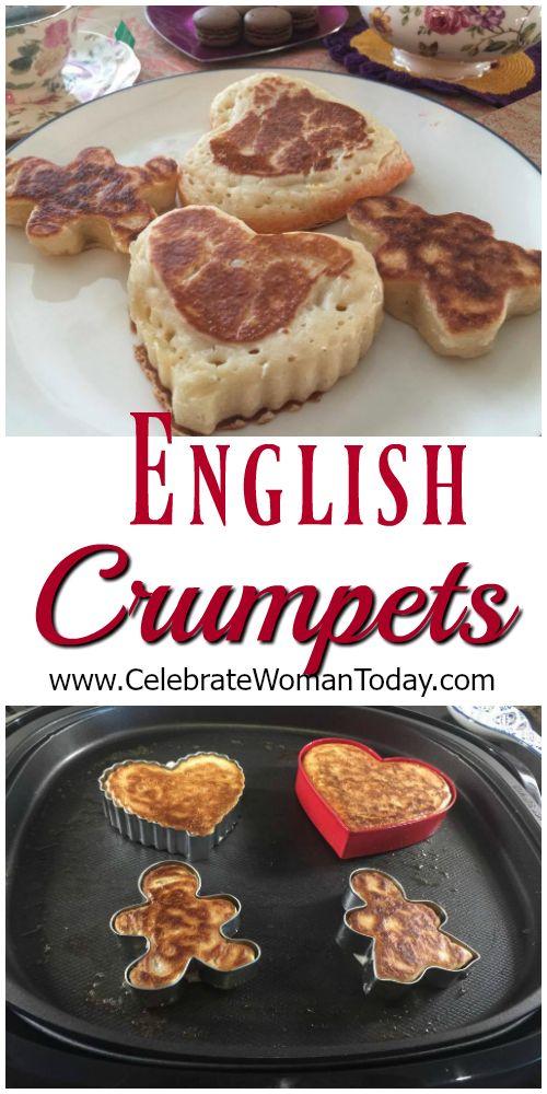 Crumpets Recipe For Your ENGLISH Tea Time #RecipeIdeas For Holidays