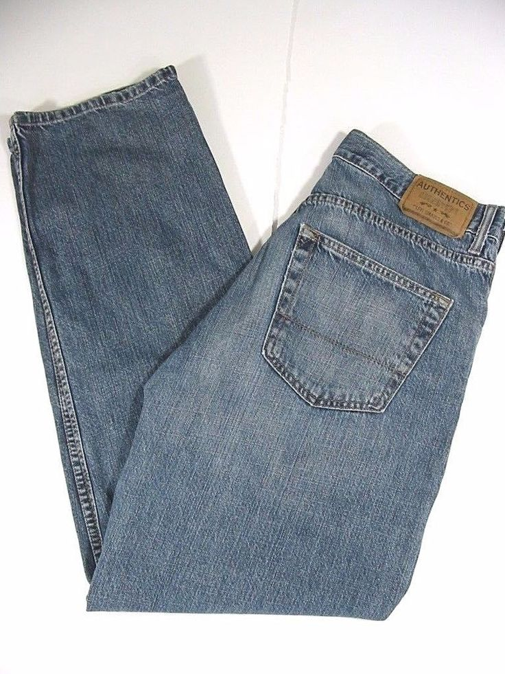 LEVI STRAUSS Authentics Signature Mens Jeans Blue Relaxed Fit Size W32/L32 #Levis #Relaxed