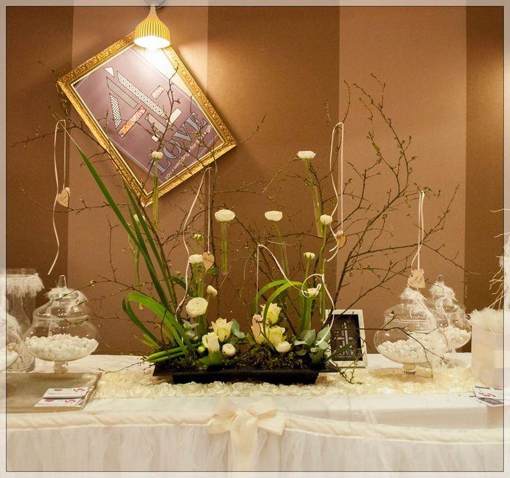 EPIRUS WEDDING SHOW -Floral Centerpiece - Floral Artist Ντίνος Μαβίδης
