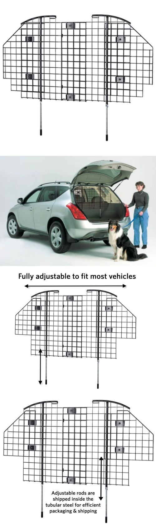 Car Seats and Barriers 46454: Dog Barrier For Suv Restraint For Car Van Vehicle Gate Universal Pet Cage Travel -> BUY IT NOW ONLY: $59.39 on eBay!